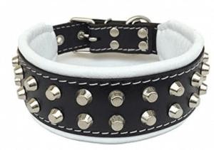 Bestia Rock Studded Dog Collar For German Shepherd