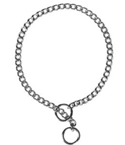 Coastal Pet Chrome-Plated Chain Choke Training Dog Collar