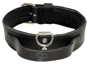 Redline K-9 Dog Heavy Duty Leather Dog Collar